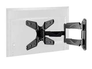 Product Image for Monoprice Select Series Full-Motion Articulating TV Wall Mount Bracket For TVs 24in to 55in, Max Weight 77lbs, VESA Pat...