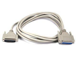 Product Image for 10ft DB25 M/F Molded Cable