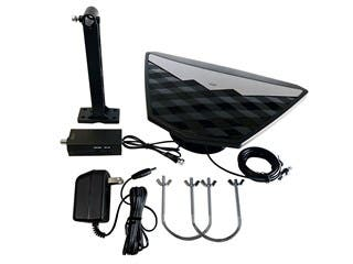 Product Image for Monoprice Active Indoor/Outdoor HD6 HDTV Antenna, 50 Mile Range