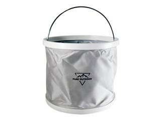 Product Image for Pure Outdoor Folding Bucket, 9 Liters