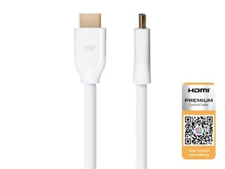 Product Image for Certified Premium High Speed HDMI® Cable, HDR, 6ft - White
