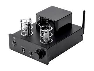 Product Image for Stereo Tube Headphone Amp with 24-bit/96kHz USB DAC, Bluetooth, and Preamp Out