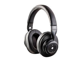 Product Image for Monoprice SonicSolace Active Noise Cancelling Bluetooth Wireless Headphones, Black Over Ear Headphones