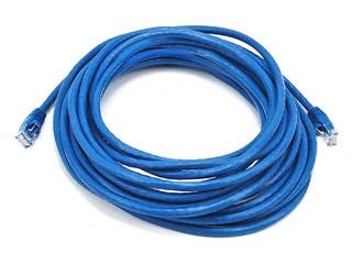 Product Image for Cat6 24AWG UTP Ethernet Network Patch Cable, 25ft Blue