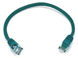 Product Image for Cat5e 24AWG UTP Ethernet Network Patch Cable, 1ft Green