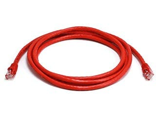 Product Image for Cat5e 24AWG UTP Ethernet Network Patch Cable, 7ft Red