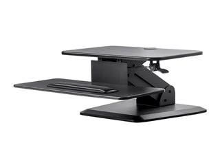 Product Image for Monoprice Sit-Stand Workstation Table or Desk Converter, with Free Standing Base
