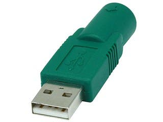 Product Image for USB Male to PS2 (MDIN6F) Converter for Logitech Brand