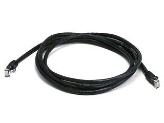 Product Image for Cat6 24AWG UTP Ethernet Network Patch Cable, 7ft Black