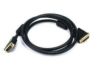 Product Image for 6ft 28AWG CL2 Dual Link DVI-D Cable - Black