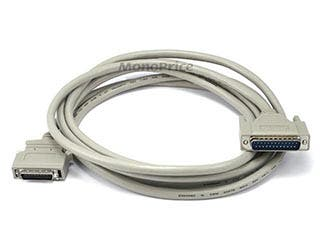 Product Image for 10FT DB-25(IEEE-1284) Male to Mini/Micro Centronic 36(HPCN36) Male Cable [IE]