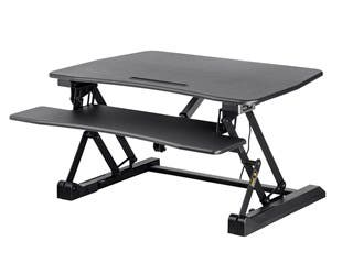 Product Image for Electric Height Adjustable Sit-Stand Desk Converter, 36 in