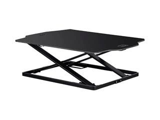 Product Image for Workstream by Monoprice Ultra-Slim Sit-Stand Table Desk Converter, Black