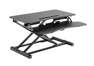 Product Image for Monoprice Sit-Stand Workstation Desk Converter, 31in