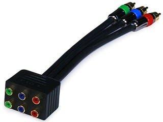 Product Image for PREMIUM 3-RCA RGB RG-6/u Component Video Splitter