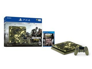 Sony PlayStation 4 (PS4) 1TB Limited Edition Call of Duty: WWII Console Bundle