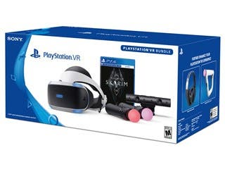 Sony PlayStation VR (PSVR) The Elder Scrolls V: Skyrim VR Bundle for the PS4 (VR Headset, Camera, Skyrim, 2 Move Controllers)