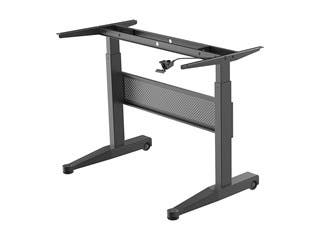 Product Image for Workstream by Monoprice Height Adjustable Gas-Lift Sit-Stand Desk Frame, 4ft