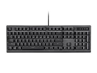 Product Image for Workstream by Monoprice Brown Switch Full Size Mechanical Keyboard, Black