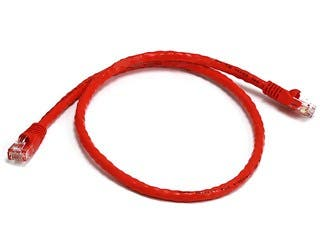 Product Image for Cat5e 24AWG UTP Ethernet Network Patch Cable, 2ft Red