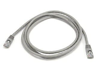 Product Image for Cat5e 24AWG UTP Ethernet Network Patch Cable, 5ft Gray