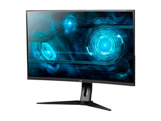 Product Image for Monoprice 32in QHD 1440p 144Hz VA Curved Gaming Monitor with Height Adjustable Stand