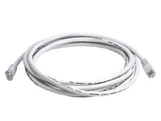 Product Image for Cat5e 24AWG UTP Ethernet Network Patch Cable, 10ft White