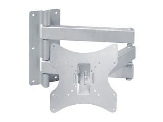 Product Image for Monoprice Full-Motion Articulating TV Wall Mount Bracket For TVs 23in to 42in, Max Weight 66lbs, Extension Range of 3.7...
