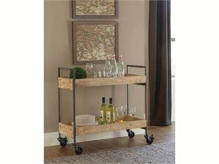 Carbon Collection by Monoprice Ashby Bar Cart