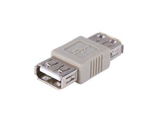 Product Image for USB 2.0 A Female to A Female Coupler Adapter