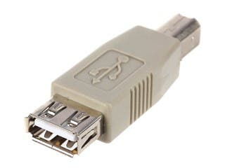 Product Image for Monoprice USB 2.0 A Female/B Male Adapter