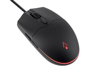 Dark Matter by Monoprice Rover Optical Gaming Mouse - 6200DPI, PixArt PAW 3327, Omron, RGB, Wired