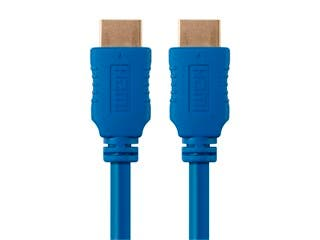 Product Image for Select Series High Speed HDMI Cable - 4K @ 24Hz, 10.2Gbps, 28AWG, 10ft, Blue
