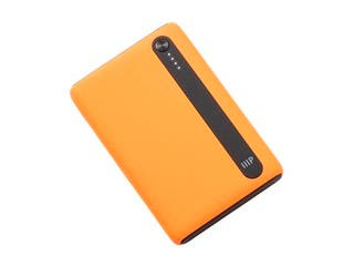 Monoprice Obsidian Plus Pocket USB Power Bank, Orange, 5,000mAh, 2-Port Up to 2.1A Output for iPhone, Android, and Galaxy Devices
