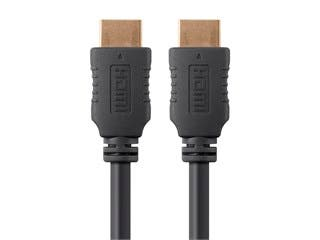 Product Image for Monoprice Select Series High Speed HDMI Cable - 4K @ 24Hz, 10.2Gbps, 28AWG, 10ft, Black