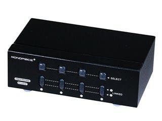 Product Image for  2X4 SVGA VGA MATRIX Switcher Splitter Amplifier Multiplier 250MHz