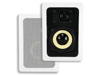 Product Image for Caliber In-Wall Speakers, 5.25in Fiber 2-Way (pair)