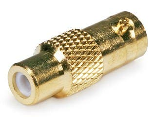 Product Image for BNC Female to RCA Female Adapter - Gold Plated