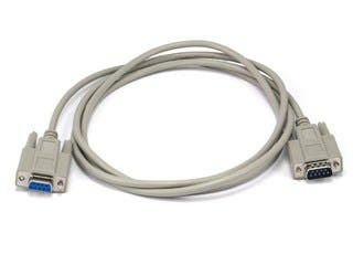 Product Image for Monoprice 6ft DB 9 M/F Molded Cable