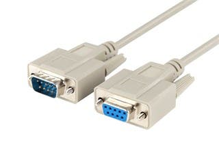Product Image for Monoprice 10ft DB 9 M/F Cable Molded