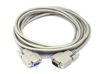 Product Image for Monoprice 15ft DB-9 M/F Molded Cable