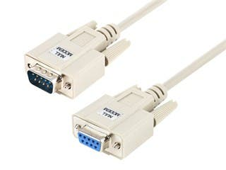 Product Image for 6ft Null Modem DB9 M/F Molded Cable