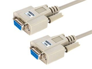 Product Image for Monoprice 10ft Null Modem DB9 F/F Molded Cable