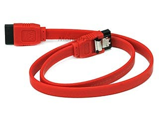 Product Image for 18inch SATA 6Gbps Cable w/Locking Latch - Red