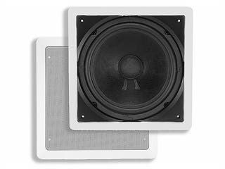 Product Image for Aria In-Wall Speaker, 10in Passive Subwoofer, 200 watts max (single)