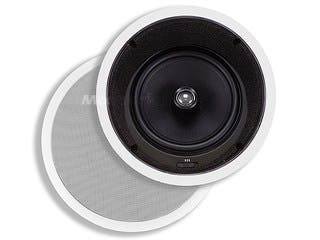 Product Image for Monoprice Caliber In-Ceiling Speakers, 8in Fiber 2-Way with 15° Angled Drivers (pair)