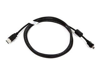 Product Image for Monoprice USB-A to Mini-B 2.0 Cable - 5-Pin, 28/24AWG, Black, 6ft