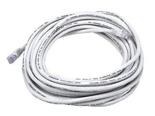 Product Image for Cat6 24AWG UTP Ethernet Network Patch Cable, 30ft White