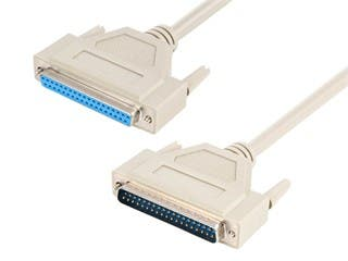 Product Image for 6ft DB37 M/F Molded Cable