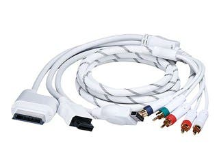 Product Image for Monoprice 6FT 4 in 1 Component Cable for Xbox 360, Wii, PS3 and PS2